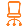 icona sedia home office