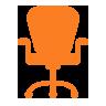 icona sedia operativa